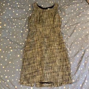 Tweed Suit Dress by J.Crew